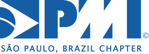 Logo PMI São Paulo - Mono AzulALTA_Inglês