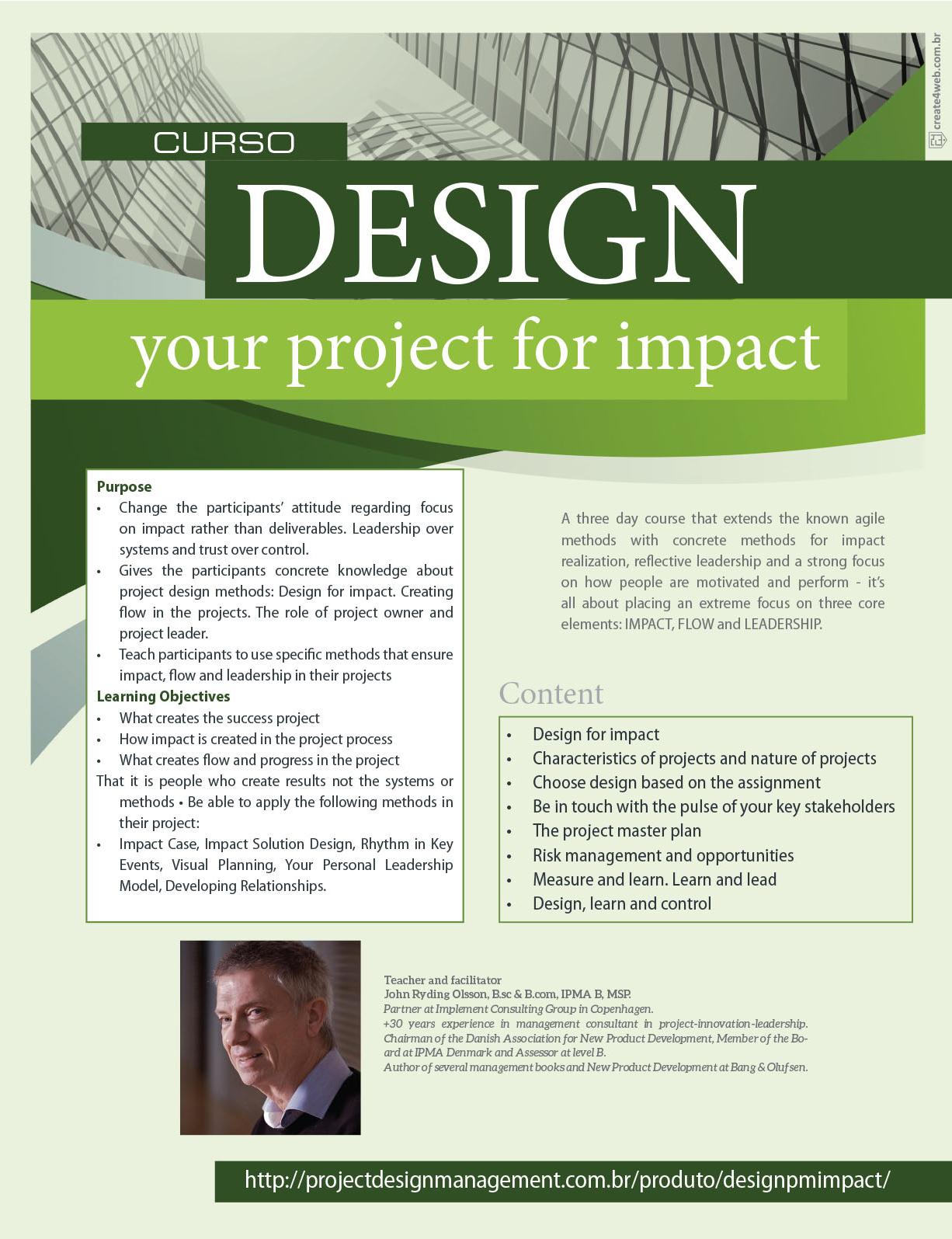 Curso: Design Project for Impact | MundoPM – Project Design