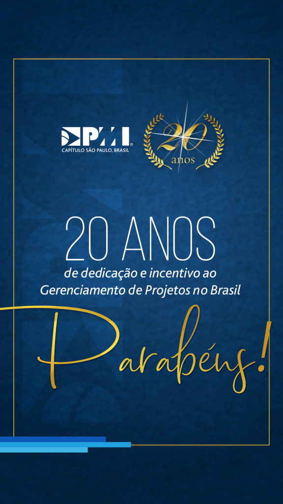 20 anos pmi-stories